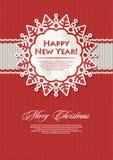 julsnowflake Fotografering för Bildbyråer