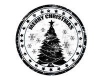 julstämpel Arkivfoto