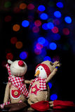 Julstatyetter Arkivbild