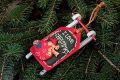 Julstilleben med ljusa symboler Royaltyfria Bilder