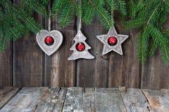 Julstilleben med ljusa symboler Royaltyfri Fotografi