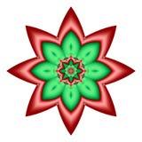julstjärna vektor illustrationer