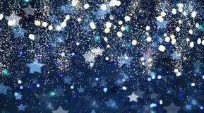 Julstjärnabakgrund stock illustrationer