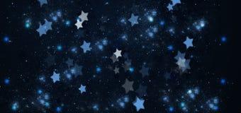 Julstjärnabakgrund vektor illustrationer