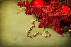 Julstjärnaprydnad royaltyfri foto