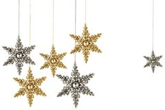 julstjärnor royaltyfri fotografi