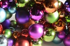 Julstruntsaker i stora antal royaltyfria bilder