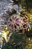 Julstruntsakgarnering fotografering för bildbyråer