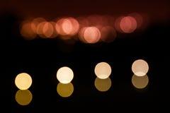 Julsuddighetsljus Fotografering för Bildbyråer