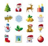 Julsymboler Arkivfoton