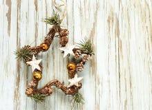 Julsymboler och garneringar Royaltyfri Fotografi
