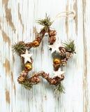 Julsymboler och garneringar Royaltyfri Bild