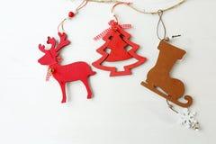 Julsymboler ombord Arkivbilder