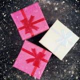 Jultappningbakgrunder Fotografering för Bildbyråer