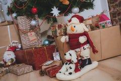 Jultappninggåvor Fotografering för Bildbyråer