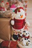 Jultappninggåvor Arkivfoto