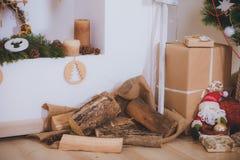 Jultappninggåvor Arkivbild