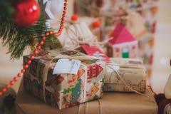Jultappninggåvor Royaltyfri Bild