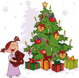 jultid Fotografering för Bildbyråer