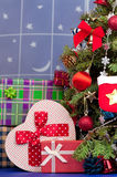 Jultillbehör Royaltyfri Bild