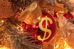 Jultillfredsställelse Fotografering för Bildbyråer
