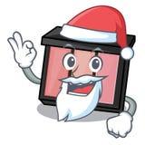 Jultomtenögonskugga ovanför teckendressingtabellen stock illustrationer