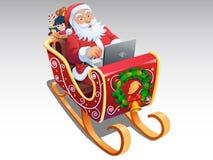 Jultomten Royaltyfri Bild