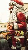 Jultomten i Bristol Royaltyfri Fotografi