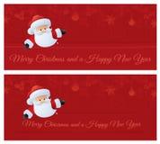 Jultomten julönska vektor illustrationer