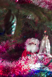 Jultomten kommer till alla Royaltyfri Bild
