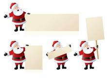 Jultomten säsongsbetonade tecken royaltyfri illustrationer