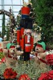 Jultomten uthärdar och tjäna som soldat Royaltyfri Fotografi