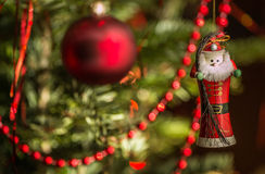 Jultomtengarnering Royaltyfri Fotografi