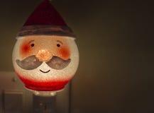 Jultomtenljus Royaltyfri Fotografi