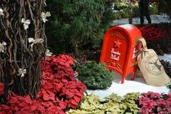Jultomtenpost Arkivbild