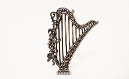 JulToy Musical Instrument harpa Arkivfoton