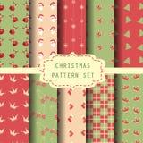 Julträskouppsättning royaltyfri illustrationer