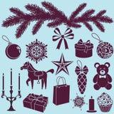 Juluppsättning Royaltyfri Foto