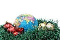 Julvärldstema - Asien arkivfoto