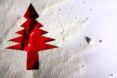 Julvykort från papperet Arkivfoton