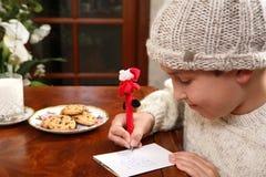 julwishlist Fotografering för Bildbyråer