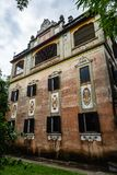July 2017 – Kaiping, China - Junlu Villa in Kaiping Diaolou Maxianglong village, near Guangzhou. Built by rich overseas Chinese, Diaolou are a unique stock photography