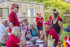 Free July 1, 2019, Canada Day Party. Toronto Park. Stock Photos - 166486313
