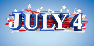 July 4 Royalty Free Stock Images
