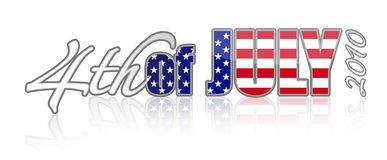 July 4th 2010  / vector Stock Photography