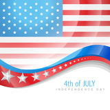 July 4th america Stock Photography