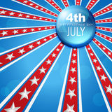 July 4th america Royalty Free Stock Photos