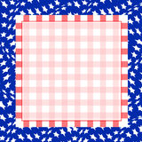 July 4th Background. Vector Illustration for the 4th of July Independence. Square background Vector Illustration