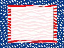 July 4th Background Stock Photography