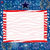 July 4th Background. Vector Illustration for the 4th of July Independence or New Years background Royalty Free Illustration